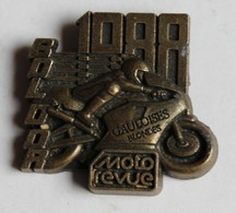 Médaille Course Moto Bol D'or 1988 Circuit Paul Ricard Gauloise Blondes AMCF - Motos