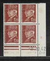 FRANCE  ( FCD4 - 227 )  1941  N° YVERT ET TELLIER  N° 515  N** - Coins Datés