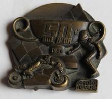 Grande Médaille Course Moto 50° Bol D'or 1986 Circuit Paul Ricard - Motos