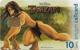 Ireland - Eircom - Tarzan Stretching - 10Units, 11.1999, 75.000ex, Used - Ireland
