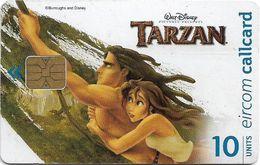 Ireland - Eircom - Tarzan And Jane - 10Units, 11.1999, 75.000ex, Used - Ireland