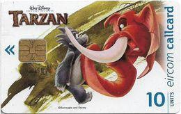 Ireland - Eircom - Tarzan - Kantor And Turk - 10Units, 11.1999, 75.000ex, Used - Ireland