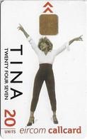 Ireland - Eircom - Tina Turner - 20Units, 2000, Used - Ireland