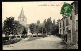 51 - CONNANTRE (Marne) - Mairie - Eglise - France