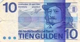 10 Gulden Niederlande 1968 VG/G (IV) - [2] 1815-… : Kingdom Of The Netherlands