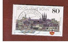 GERMANIA (GERMANY) - SG 2262 - 1989 BONN BIMILLENARY    - USED - [7] République Fédérale
