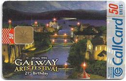 Ireland - Eircom - Galway Arts Festival - 50Units, 05.1998, 50.000ex, Used - Ireland