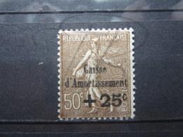 VEND BEAU TIMBRE DE FRANCE N° 267 , X !!! - Caisse D'Amortissement