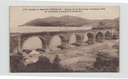 VIADUC ET BAIE DE THEOULE ROUTE DE LA NOUVELLE CORNICHE D OR DE CANNES A SAINT RAPHAEL 06 - Unclassified