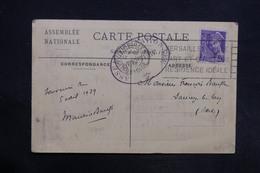 FRANCE - Carte Postale De L 'Assemblée Nationale En 1939 - L 30918 - 1921-1960: Periodo Moderno