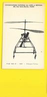Rare Hélicoptère VUITTON Au Conservatoire Des Arts Et Métiers à Paris - Elicotteri