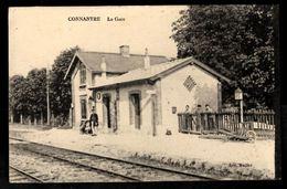 51 - CONNANTRE (Marne) - La Gare - Frankrijk