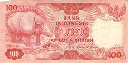 100 Rupien Indonesien 1977  VF/F (III) - Indonesia