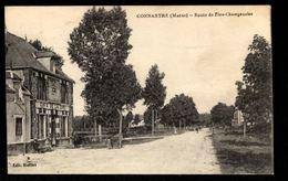 51 - CONNANTRE (Marne) - Route De Fère Champenoise - Café De La Gare - Autres Communes