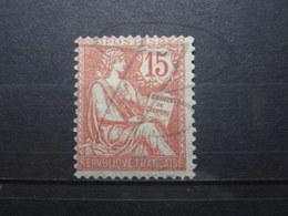 VEND BEAU TIMBRE DE FRANCE N° 125 , X !!! (b) - 1900-02 Mouchon