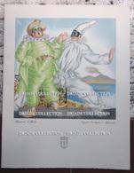 MENU ITALIA LLOYD TRIESTINO ADRIATICA TIRRENIA MOTONAVE EUROPA ANNO 1953 MASCHERE DI NAPOLI ILLUSTRATORE VENEZIANI - Menu