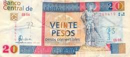20 Peso Kuba 2006  VF/F (III) - Cuba