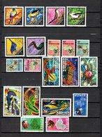 Guinea  1971-72  .-  Y&T  Nº   440/445-446/450-451/456-457-459/460 - República De Guinea (1958-...)