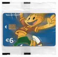 Portugal - PT - Euro 2004 Football Champ - Athlete (Blue), - PT406 - 6€, Chip INcard, 01.2004, 226.000ex, NSB - Portugal