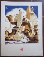 MENU ITALIA ITALIA LLOYD TRIESTINO ADRIATICA TIRRENIA ANNO 1939 COLONIE ITALIANE LIBIA ILLUSTRATORE VENEZIANI - Menu