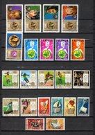 Guinea  1972  .-  Y&T  Nº   461/465-466/469-470/476-477/482 - República De Guinea (1958-...)