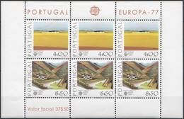 Cept 1977 Portugal Yvertn° Bloc 20 *** MNH Cote 50 Euro - Europa-CEPT