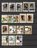 Guinea  1972-73  .-  Y&T  Nº   482/485-494-496-499-500/502-505/510 - República De Guinea (1958-...)