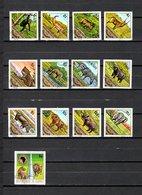 Guinea  1974-75  .-  Y&T  Nº   533/534-536/538-539/550-551 - República De Guinea (1958-...)