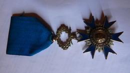 Médailles De  Chevalier De L'Ordre National Du Mérite; - Francia
