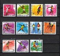 Guinea  1976  .-  Y&T  Nº   560/567-569/571 - República De Guinea (1958-...)