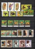 Guinea  1977-79  .-  Y&T  Nº   599/600-602-607/610-613/621-622/625-626/627-630/631 - República De Guinea (1958-...)