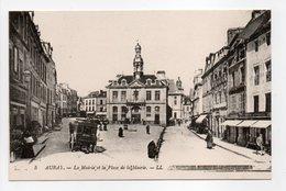 - CPA AURAY (56) - La Mairie Et La Place De La Mairie (belle Animation) - Editions Lévy N° 5 - - Auray