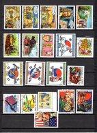 Guinea  1986-87  .-  Y&T  Nº   801/804-805/807-810-815/818-821/824-828-836/837-839 - República De Guinea (1958-...)