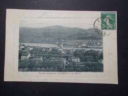 Carte Postale - CONDRIEU (69) - Vue Panoramique De Condrieu Et Des Roches - (2814) - Condrieu