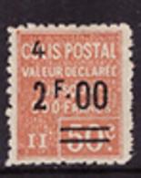-France Colis Postaux  63** - Mint/Hinged