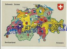 Carte Géographique De Suisse. Rud. Suter AG - Cartes Géographiques