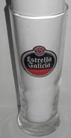 VERRE  BIÉRE  ESTRELLA GALICIA - SPAIN - Glasses