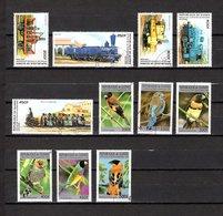 Guinea  1996  .-  Y&T  Nº   1066/1070-1075/1080 - Guinée (1958-...)