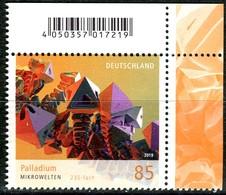 BRD - Mi 3466 ECKE REO - ** Postfrisch (D) - 85C      Mikrowelten Palladium, Ausgabe: 06.06.2019 - [7] République Fédérale