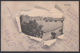 CPA - Pologne - Poland, BRESLAU / WROCLAW, Blick Von Der Holteihöhe, 1903 - Polonia