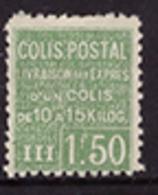 -France Colis Postaux  68** - Mint/Hinged