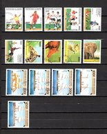 Guinea  1997  .-  Y&T  Nº   1105/1110-1111-1113/1115-1117/1121 - República De Guinea (1958-...)