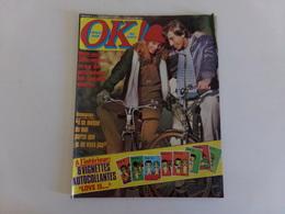 "Magazine ""Ok Age Tendre"" N° 145, 1978 "" Sardou, Ryan O'Neal, Miguel Bosé ... "" - Musique"