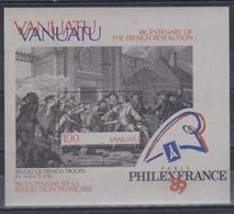 VANUATU  :  Bicentenaire De La Révolution Française  BF 12 Neuf XX - Franz. Revolution
