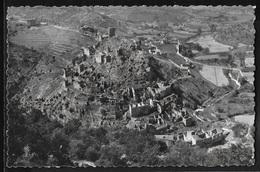 CPSM 07 - Rochecolombe, Vue Générale Des Ruines Du Vieux Rochecolombe - Autres Communes
