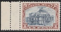 Mexico 1923 - Sc 649, 1peso - National Theater - MNH - Mexico