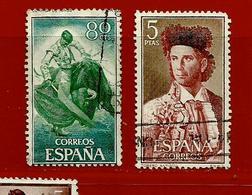 Espagne N° 949 - 954 - 1931-Aujourd'hui: II. République - ....Juan Carlos I