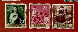 Espagne N° 958 - 962 - 964 - 1931-50 Usati