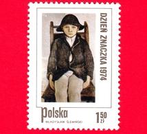 Nuovo - MNH - POLONIA - 1974 - L'orfano Di Poronin, Dipinto Di Wladyslaw Sliwinski - 1.50 - 1944-.... Repubblica