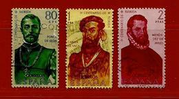 Espagne N° 981 - 982 - 983 - 1931-Aujourd'hui: II. République - ....Juan Carlos I